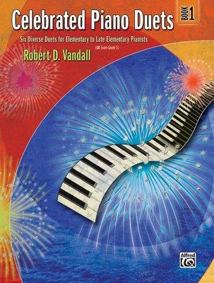 【599免運費】Celebrated Piano Duets, Book 1 Alfred 00-22531