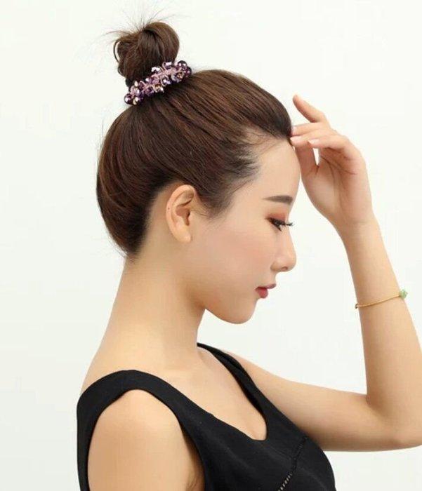 義大利製施華洛鑽石髮束