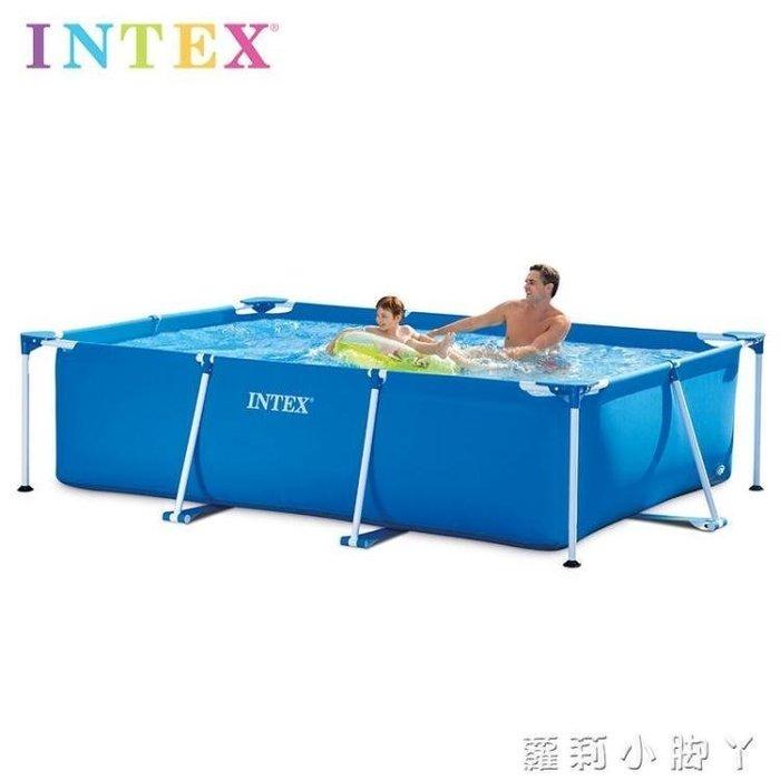 【不二藝術】支架游泳池兒童家用成人超大號大型戲水池寶寶小孩室外戶外 方形220cmX150cBYYS160