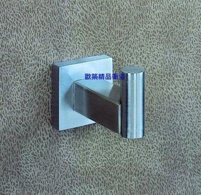 【歐築精品衛浴】LILAIDEN✰ 方型不鏽鋼系列 掛衣勾 LD-74904 ST 台北市