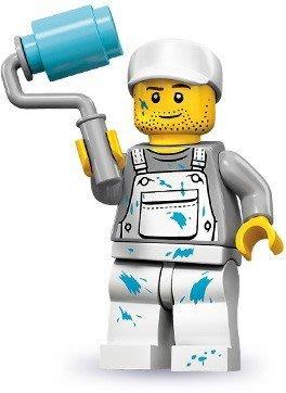 【LEGO 樂高】積木/ Minifigures人偶系列:10代人偶包抽抽樂 71001 | 油漆工 Decorator