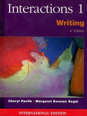 英文寫作Interactions 1 《Writing》第4版 211頁  【未使用】