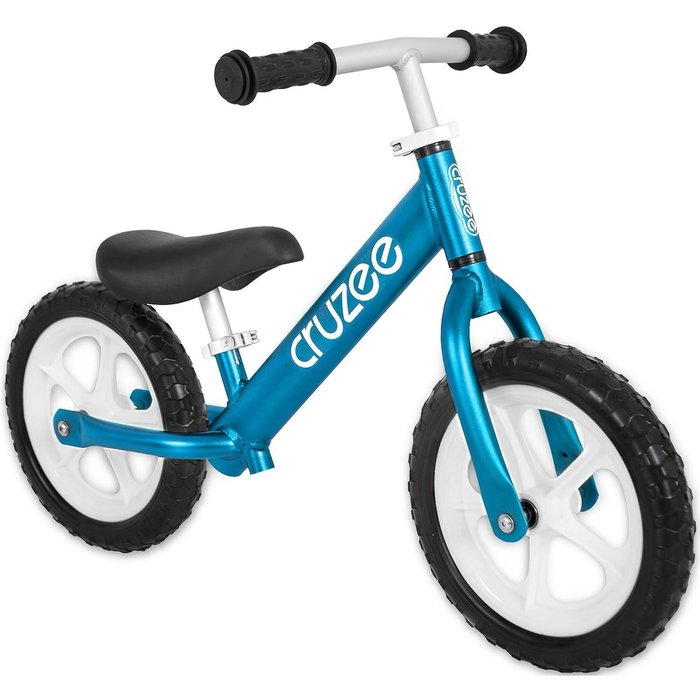 (CRUZEE) 超輕量鋁合金平衡滑步車 Push Bike 藍色 (共九色)