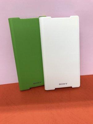 Sony Z2原廠側翻皮套 SCR10 手機殼手機套手機保護殼 白