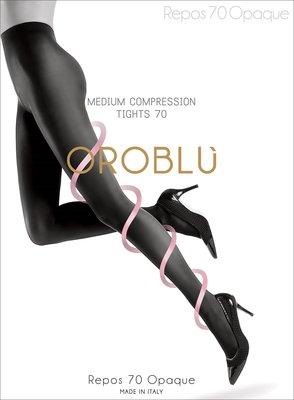°☆就要襪☆°全新義大利品牌 OROBLU REPOS 70 OPAQUE 美腿加壓機能襪(70DEN)