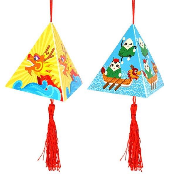 兒童手工DIY塗鴉粽子掛飾材料包 端午節【JC3679】《Jami Honey》