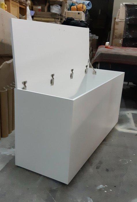 美生活館 全新 家具訂製 純白色 上掀式 收納箱 床頭箱 床尾箱 置物箱