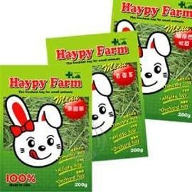 【🐱🐶培菓寵物48H出貨🐰🐹】美國《Haypy Farm》牧草樂園-200g*1包 特價49元(自取不打折)