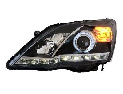合豐源 車燈 CRV 3代 3.5代 LED 光圈 魚眼 大燈 頭燈 07 08 09 10 11 年 燈眉
