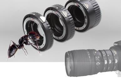 尼康口近攝接圈自動電子對焦近攝環 單反鏡頭通用微距轉接環