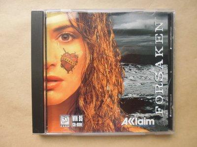 明星錄*1998年美國版.FORSAKEN二手遊戲光碟(m08)