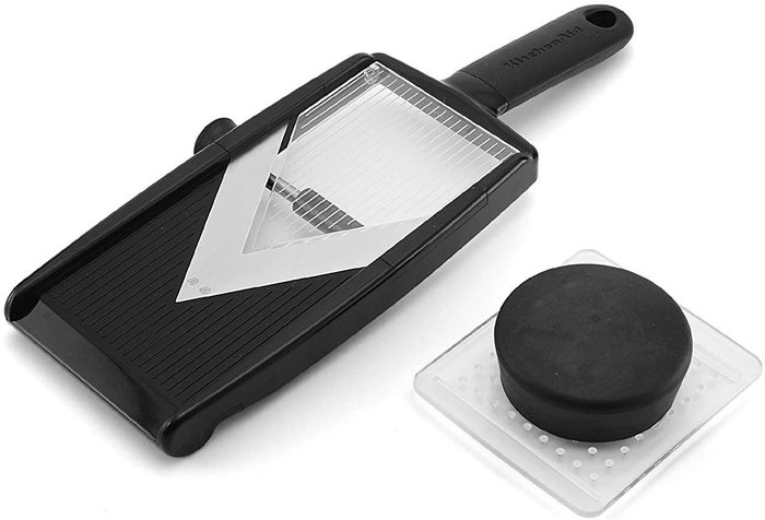 【樂活先知】『代購』美國  KitchenAid  可調整厚度 V型切片器   切片刀  KC312OHOBA