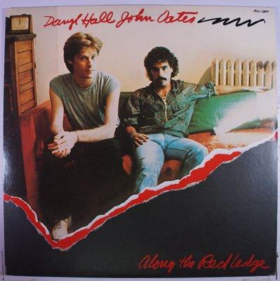《二手美版黑膠》Daryl Hall & John Oates - Along The Red Ledge