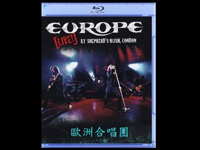 【BD藍光】歐洲合唱團:倫敦演唱會Europe:Live at Shepherd s Bush London