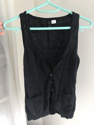 DUD 020  H & M 黑色背心小外套