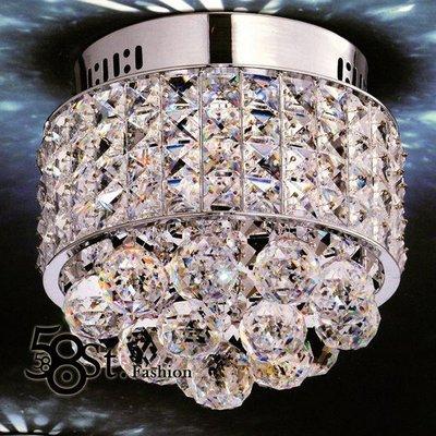 【58街】LED 燈飾「水晶鑽玄關燈 、 吸頂燈 」復刻版。GZ-202