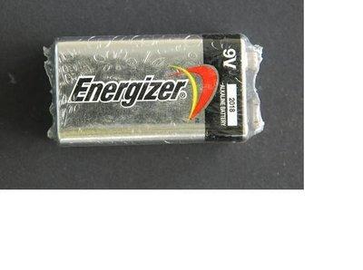 Energizer 勁量鹼性電池 9V 電池 (收縮1入) 馬來西亞 製造 鹼性電池 9V