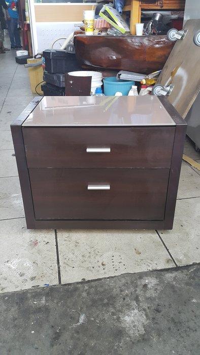 樂居二手家具 全新中古傢俱賣場 B0602AJJC 胡桃色床邊櫃* 抽屜櫃 床頭櫃 邊櫃 收納櫃 置物櫃 各式家具買賣