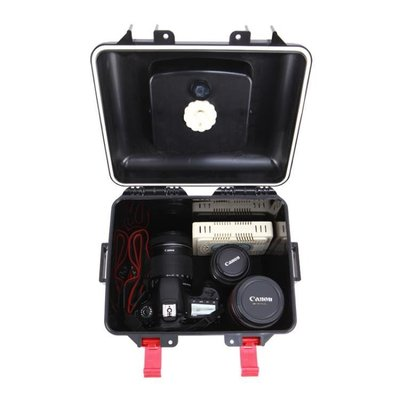 【初見】防潮箱 銳瑪R50 單反相機防潮箱攝影器材鏡頭數碼電子收納箱錢幣干燥箱盒塑料 WJ【科技】