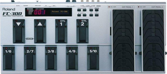 ☆ 唐尼樂器︵☆ ROLAND FC-300 FC300 切換踏板 MIDI Foot Controller