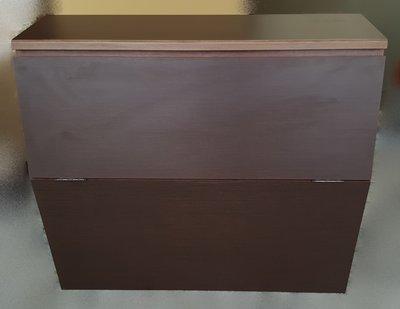 台中二手家具 宏品中古傢俱賣場 B71107*胡桃色3.5尺床頭櫃* 收納櫃 床邊櫃 衣櫃 衣櫥 2手臥室傢俱拍賣