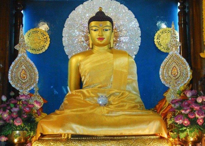 【準提無意間】佛卡結緣 *  菩提伽耶正覺大塔釋迦牟尼佛法相  印度佛陀成佛聖地