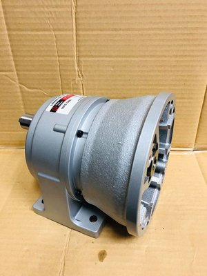台製全新品 臥式1HP 10-1 自配馬達型 減速機-減速馬達-傳動馬達-中型減速機-
