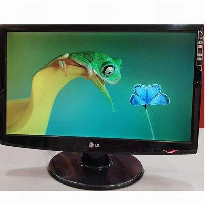 樂金 LG W2243S【22型】LED背光 FullHD 液晶螢幕顯示器、D-Sub 介面輸入、優質二手良品、附線組