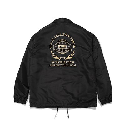 [NMR] B-SIDE 教練外套 18 A/W Globe Coach JKT 非現貨賣場