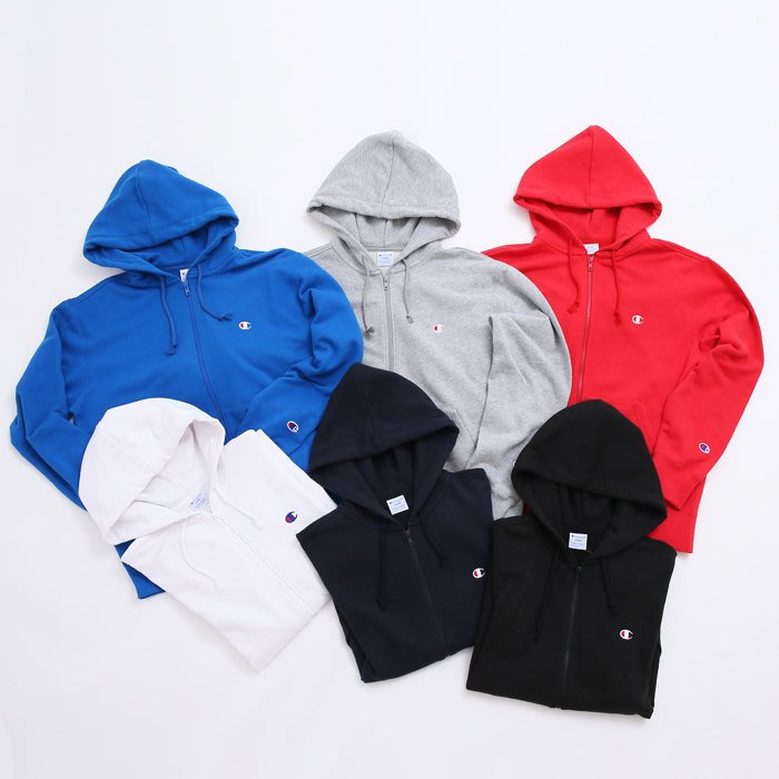 [NMR]CHAMPION 連帽外套 16 F/W C3-119 Full Zip Hooded 現貨賣場