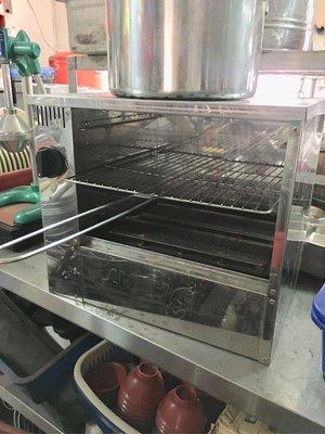 下火兩管烤爐