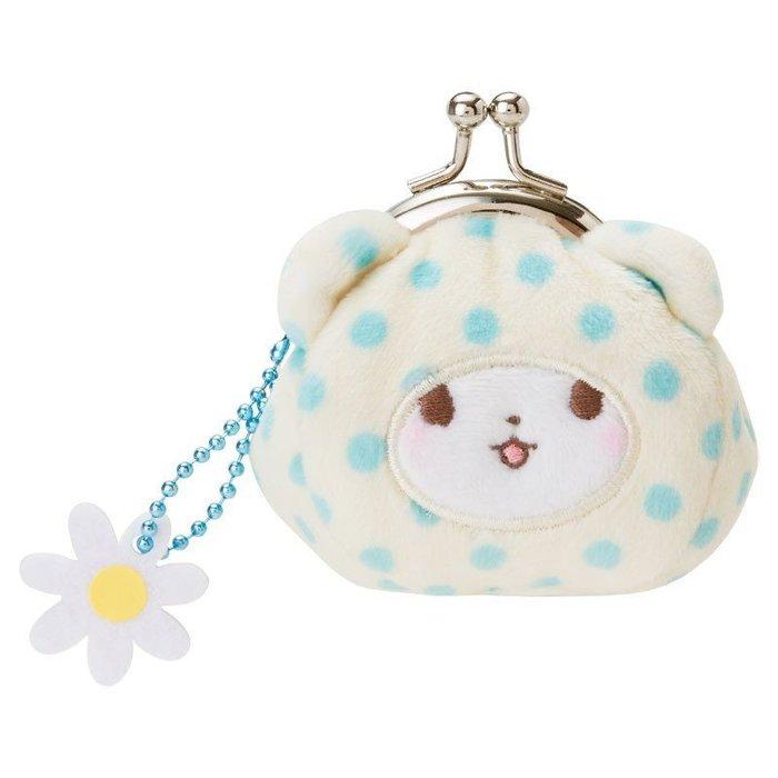 《現貨7折》三麗鷗Sanrio~MF毛毯熊 莫普 絨毛零錢包~日本正品~心心小舖