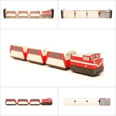 【喵喵模型坊】TOUCH RAIL 鐵支路 Q版 阿里山號小列車 ( QV020T1)
