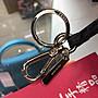 ☆最愛二手精品☆ FENDI  迷彩藍色皮革怪獸零錢包吊飾鑰匙圈 XD1235 7AR432