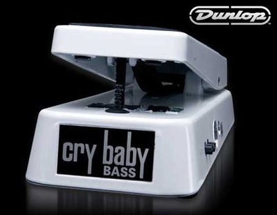 《民風樂府》Dunlop BASS WAH WHITE 105Q 電貝斯 踏板哇哇 效果器