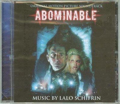 """""""大腳哈利/雪怪大逆襲(Abominable)""""- Lalo Schifrin(11),全新美版"""