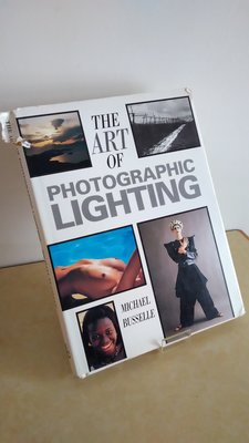 【英文舊書】攝影-攝影光線解析Art of Photographic Lighting, Michael Busselle 新北市