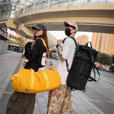 「南巷小鎮」 唐人街探案3同款旅行包女手提超大容量輕便行李袋雙肩背包男兩用D6N9