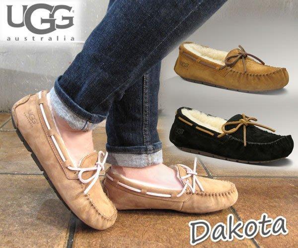 UGG 全新正品羊毛豆豆鞋 現貨 男款 女款 都有 跟TODS 豆豆鞋一樣舒服哦 UGG 雪靴