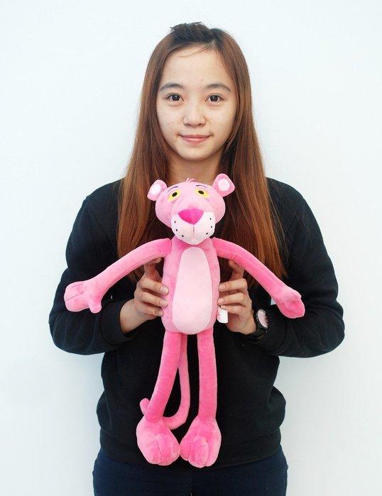 可愛頑皮豹娃娃~高50cm~粉紅豹~絨毛玩偶~布偶~超可愛人氣商品~網路熱銷