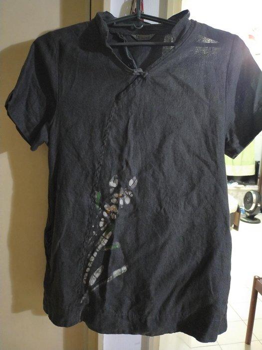張麗娓手染服飾尺碼寬大