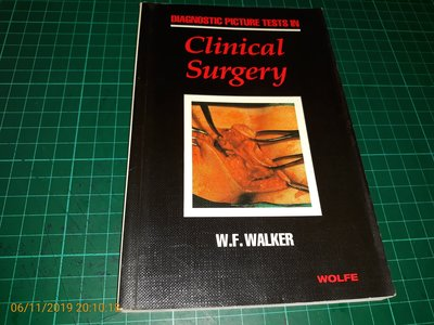 有許多血腥照片~西文書《Clinical Surgery 臨床手術》W.F.WALKER 【CS 超聖文化讚】