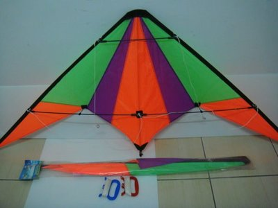 [翔飛戶外休閒] 特技風箏-技術風箏-雙線風箏-彩易6尺-台灣製造 【直購下標區】