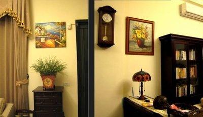 {藝術之都}手繪創作油畫~為您的居家妝點最合適的手繪油畫~~含內框可直接懸掛~~