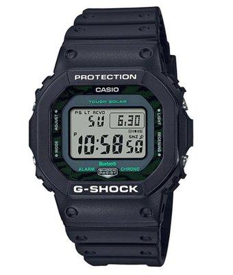 【萬錶行】CASIO G  SHOCK  午夜綠  休閒時尚錶款  GW-B5600MG-1