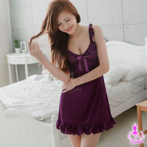 【Pretty Maid】輕柔戀曲 浪漫柔緞睡衣 NA11020155