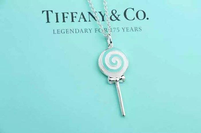 Melia 米莉亞代購 Tiffany&Co. 925純銀 Tiffany 蒂芙尼 項鍊 手環飾品 禮物 棒棒糖項鍊