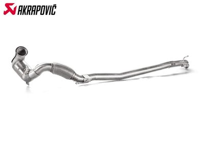 【樂駒】Akrapovic VOLKSWAGEN GOLF R Downpipe Link pipe 不鏽鋼 排氣管