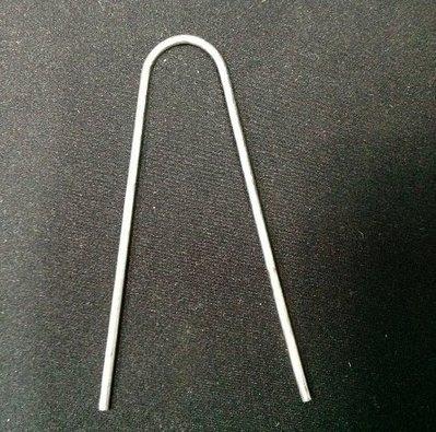 抑草蓆釘 不織布 房草蓋 抑草墊 草莓 銀膠布 雜草抑制蓆 固定 U形釘,固定釘 ㄇ型釘可參考