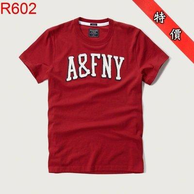 【西寧鹿】AF a&f Abercrombie & Fitch HCO  T-SHIRT 絕對真貨 可面交 R602